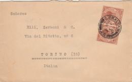 LETTERA GIBILTERRA 1926 ARRIVO TORINO (EX819 - Gibilterra