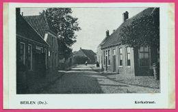 Beilen - Kerkstraat - Animée - ** Apparemment Carte Contrecollée - Fabrication Maison ** - Nederland