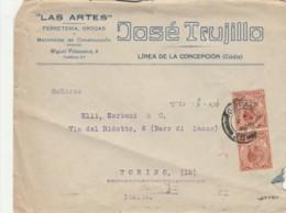 LETTERA GIBILTERRA 1926 ARRIVO TORINO (EX820 - Gibilterra