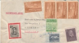 LETTERA CUBA 1952 TRANSITO WASHINGTON ARRIVO MILANO (EX822 - Cuba
