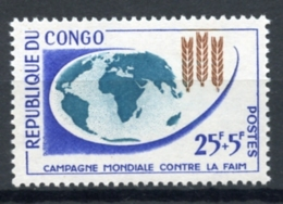 Congo Brazzaville, 1963, Freedom From Hunger, FAO, United Nations, MNH, Michel 26 - Congo - Brazzaville