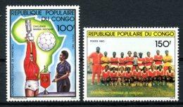 Congo Brazzaville, 1981, African Handball Games, Sport, MNH, Michel 800-801 - Congo - Brazzaville