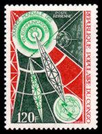 Congo Brazzaville, 1973, World Telecommunication Day, ITU, United Nations, MNH, Michel 365 - Congo - Brazzaville