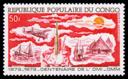 Congo Brazzaville, 1973, World Meteorological Organization, WMO, United Nations, MNH, Michel 378 - Congo - Brazzaville