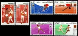 Congo Brazzaville, 1975, Olympic Summer Games Montreal, Sports, MNH, Michel 496-501 - Congo - Brazzaville