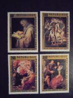 Congo Brazzaville, 1978, Rubens, Paintings, Art, MNH, Michel 606-609 - Congo - Brazzaville