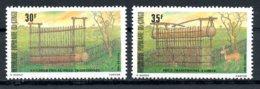 Congo Brazzaville, 1981, Hunting, Big Game Trap, Animals, MNH, Michel 816-817 - Congo - Brazzaville