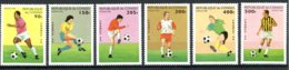 Congo Brazzaville, 1996, Soccer World Cup France, Football, MNH, Michel 1444-1449 - Congo - Brazzaville