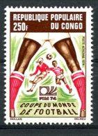 Congo Brazzaville, 1974, Soccer World Cup Germany, Football, MNH, Michel 411 - Congo - Brazzaville