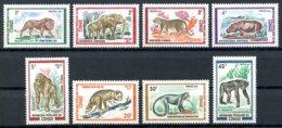 Congo Brazzaville, 1972, Animals, Fauna, MNH, Michel 341-348 - Congo - Brazzaville