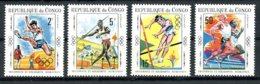 Congo Brazzaville, 1970, Sports, Athletics, MNH, Michel 217-220 - Congo - Brazzaville