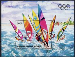 Congo Brazzaville, 1983, Olympic Summer Games Los Angeles, Windsurfing, MNH, Michel Block 33 - Congo - Brazzaville