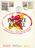 STAMPATO 1989 ANNULLO KASSELL FIRENZE (EX854 - 1981-90: Storia Postale