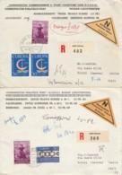 2 RACCOMANDATAE LIECHTTENSTEIN 1967 (EX875 - 1840-1901 (Regina Victoria)
