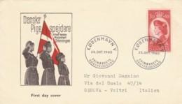 FDC DANIMARCA 1960 (EX884 - Denmark