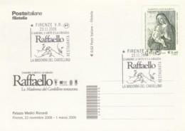 CARTOLINA 2008 RAFFAELLO LA MADONNA DEL CARDELLINO (EX889 - 6. 1946-.. Repubblica