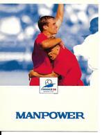 COUPE DU MONDE FOOTBALL FRANCE 1998 - WORLD CUP 98 MANPOWER - Football