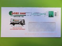 PAP - Entier Postal - Monuments Tour Eiffel - Agri 3000 - Camion Citerne - Belmont S/Rance (12) - 08.03.19 - Biglietto Postale