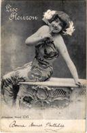 CPA LISA FLEURON THEATER STAR (13376) - Théâtre
