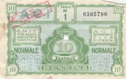 BUONO BENZINA ENIT ACI -SEGNI DEL TEMPO (EX915 - Italia
