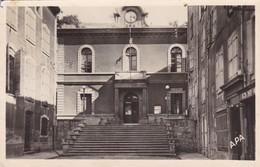 34. BEDARIEUX . L'HOTEL DE VILLE. ANNEE 1953 + TEXTE - Bedarieux