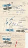 LOTTO 3 RICEVUTE PACCHI (EX918 - 6. 1946-.. Repubblica