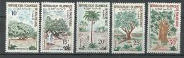 """Mauritanie YT 227 à 231 """" Arbres """" 1967 Neuf** - Mauritanie (1960-...)"""