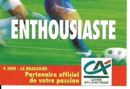 COUPE DU MONDE FOOTBALL FRANCE 1998 - WORLD CUP 98 NANTES STADE BEAUJOIRE - TOURNOI DE FRANCE 1997 CREDIT AGRICOLE - Football