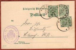 DP 29 + ZF Ziffer, Volksschule Rodt, Lossburg Nach Biberach 1919 (71084) - Wuerttemberg
