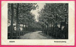Assen - Rolderstraatweg - ** Apparemment Carte Contrecollée - Fabrication Maison ** - Assen