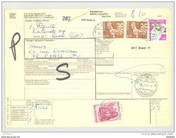 Bulletin D'Expédition - Schweiz / Suisse - Lot De 12 - Briefe U. Dokumente