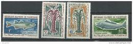 """Mauritanie YT 179 à 182 """" Poissons - Crustacés """" 1964 Neuf** - Mauritanie (1960-...)"""