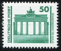 3346 Brandenburger Tor - Markanter Waagerechter Farbstrich Mittig, Postfrisch ** - DDR