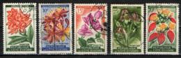 COSTA D'AVORIO - 1961 - FIORI AFRICANI - USATI - Costa D'Avorio (1960-...)