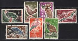 COSTA D'AVORIO - 1965 - UCCELLI - BIRDS - USATI - Côte D'Ivoire (1960-...)