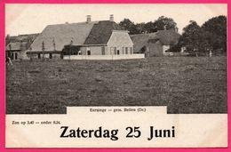 Eursinge - Gem. Beilen - Zaterdag 25 Juni - ** Apparemment Carte Contrecollée - Fabrication Maison ** - Nederland