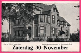 Aleida Kramer Stichting - Koevorden - Animée - DE VELDBODE - ** Apparemment Carte Contrecollée - Fabrication Maison ** - Nederland