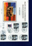 FDC 3542 Coopération Franco-Allemande - Grande Enveloppe - - FDC
