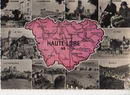 43 Carte Du Departement Craponne,Chaise Dieu,Brioude,Puy,Fix St Seneys ,Blesle,dentellieres A Craponne - France