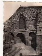 43 LE MONASTIER Alt 950m Facade De L'Eglise Abbatiale - France