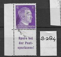 1940 USED Germany, Adolf H. S284 - Zusammendrucke