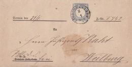 DR Brief EF Minr.20 K1 Limburg A. D. Lahn 8.1. Gel. Nach K1 Weilburg - Deutschland