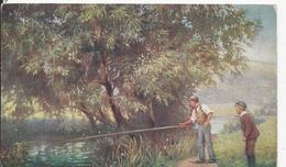 Oilette   Pecheur    Tuck  No 9408 - Illustrateurs & Photographes