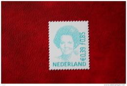 Beatrix 0,85 Gld 0,39 Euro Gestanst ; NVPH 1984 (Mi 1907) ; 2001 POSTFRIS / MNH ** NEDERLAND / NIEDERLANDE / NETHERLANDS - 1980-... (Beatrix)