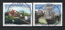 Lietuva   2018 , EUROPA CEPT Brücken - Gestempelt / Used / (o) - 2018