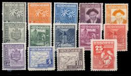 ** 45/58. El Nº 58 Con Invisible Señal De Fijasellos. Cat. 210 €. - Unused Stamps