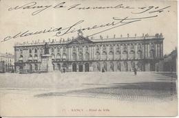 CPA  France   Meurthe Et Moselle   Nancy  Hôtel De Ville - Nancy