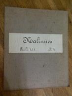 NALINNES  +MILITARIA: TRES RARE CARTE MILITAIRE DE NALINNES ET ENVIRONS 1860-1870 - Documenti
