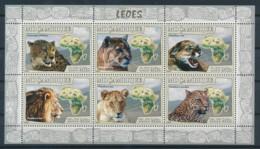 D - [401298]Mozambique 2008 - Lions - Félins