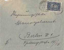 DR Brief EF Minr.246 KOS Schönefeld (Kr. Crossen) 6.2.23 - Deutschland